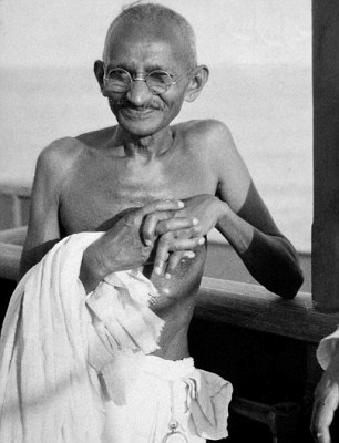 ACE AND JIG DOUBLE OR NOTHING MOHANDAS GANDHI