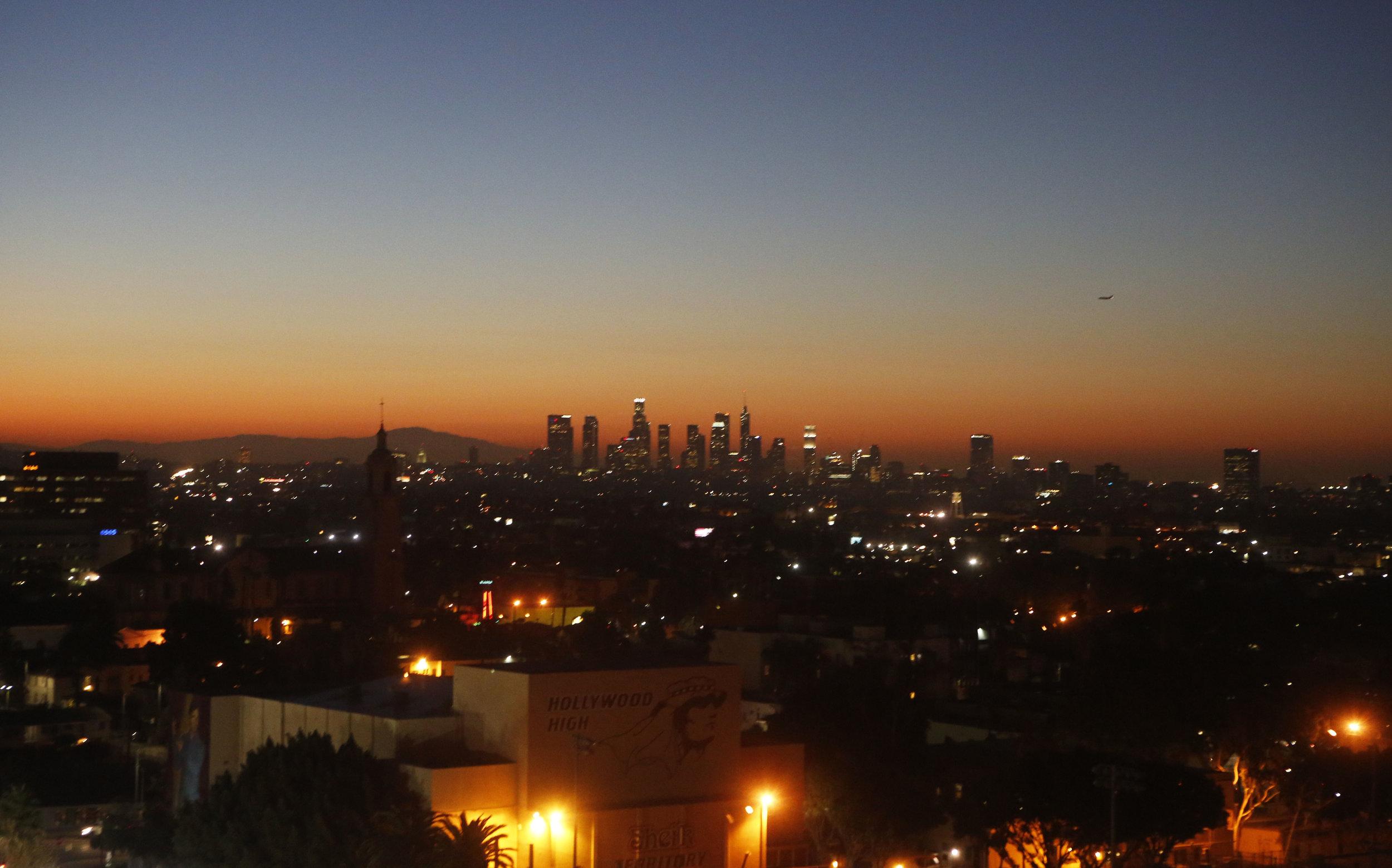 Sunrise, Hollywood