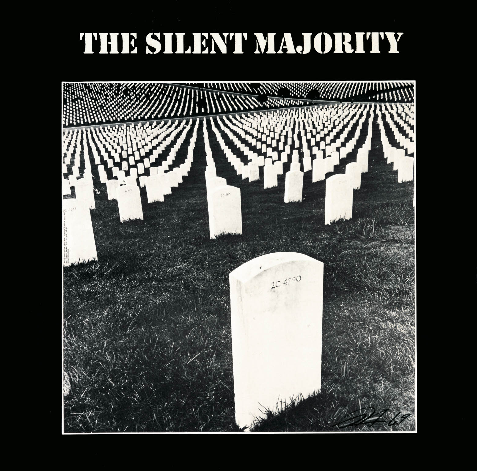 The Silent Majority, 1969. ARTWORK BY PRIMO ANGELI.