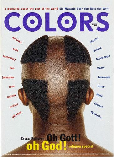 Colors Magazine, 1991–1995.                    ARTWORK BY TIBOR KALMAN.