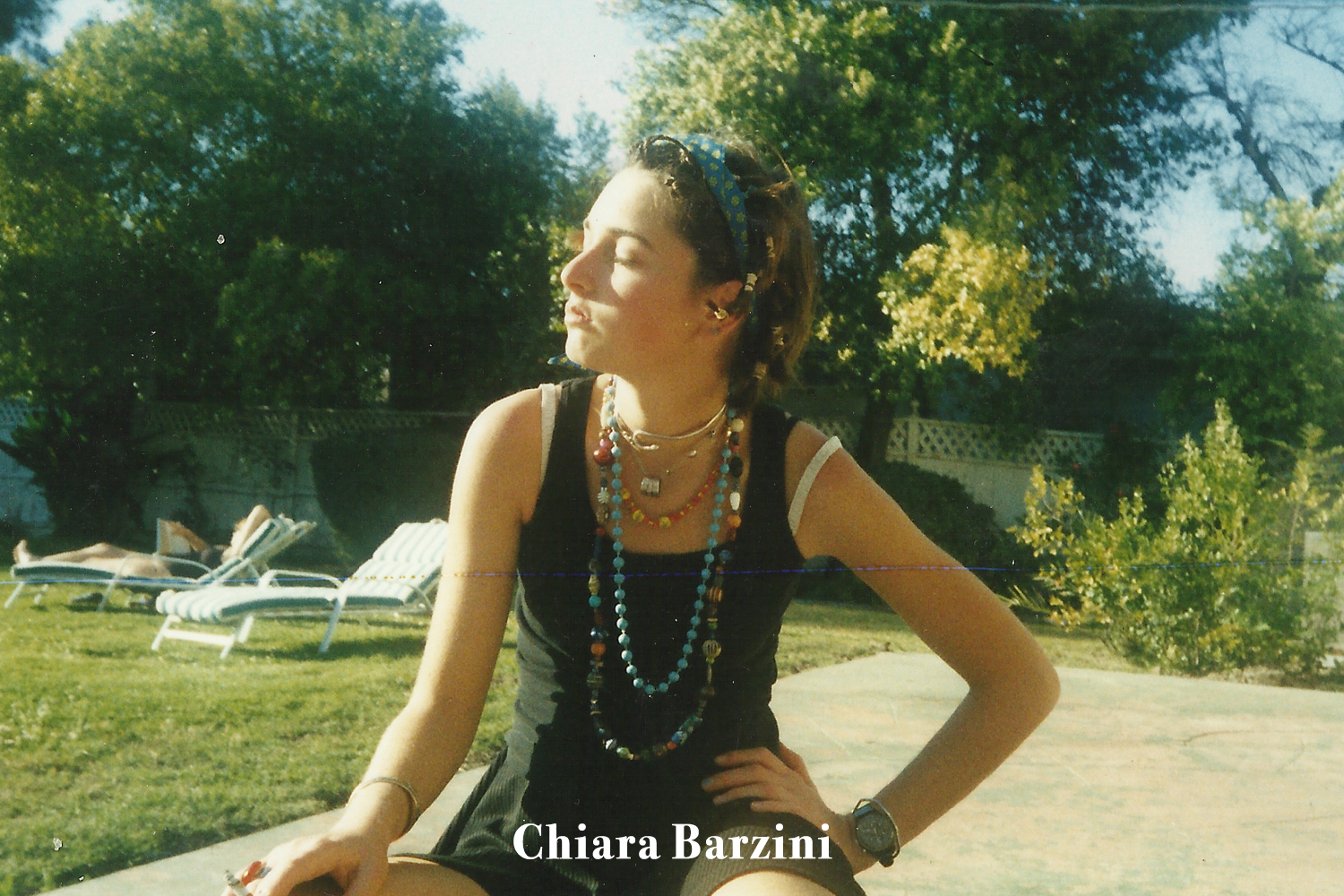 CHIARA BARZINI DOUBLE OR NOTHING