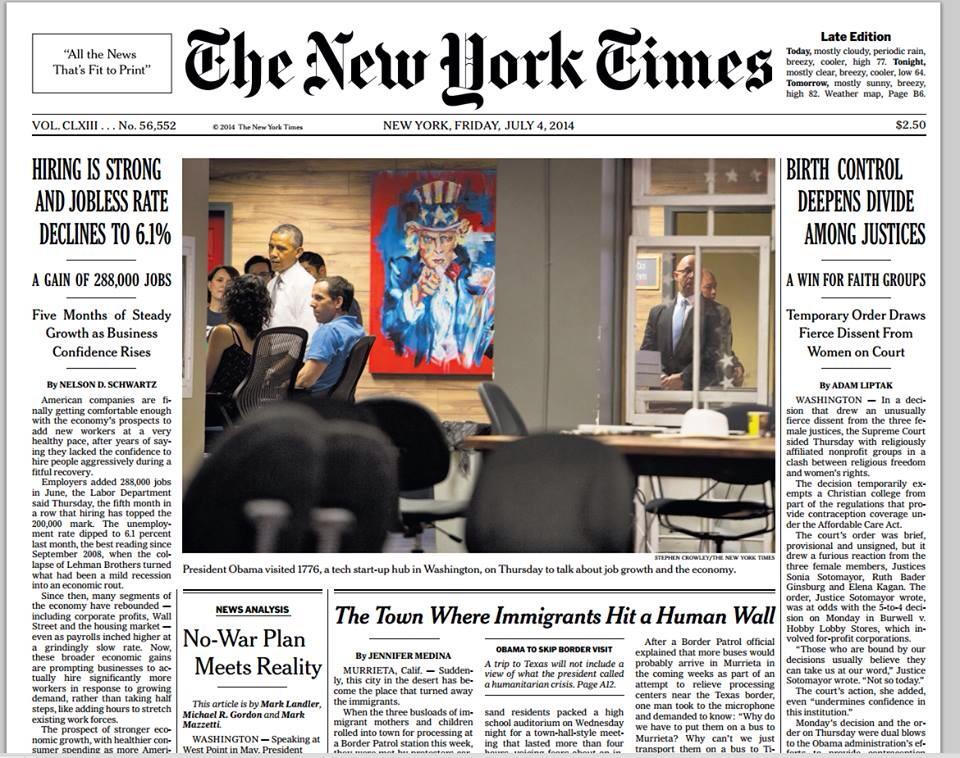 The New York Times - July 4, 2014