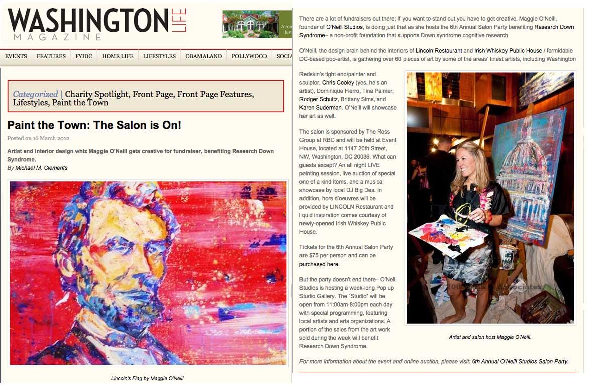 Washington Life Magazine - March 16, 2012