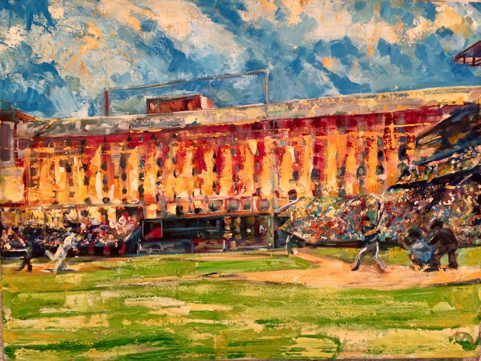 Colorful Camden Yards