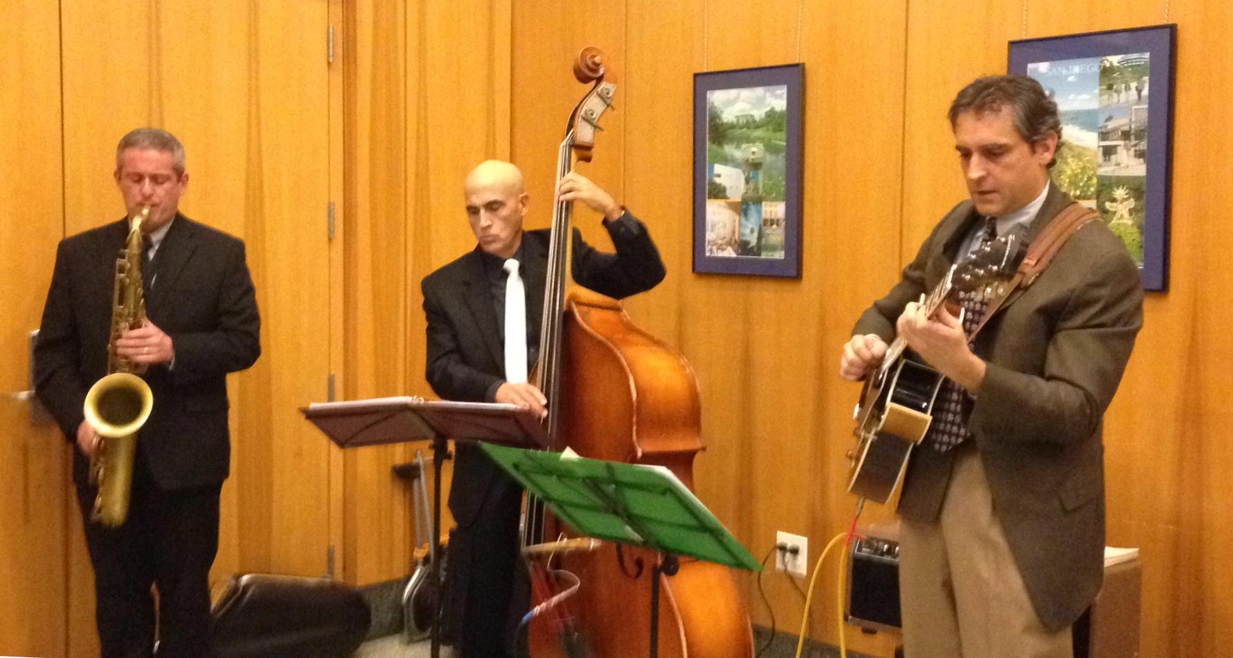 Roger Taylor Quartet in a sentimental mood