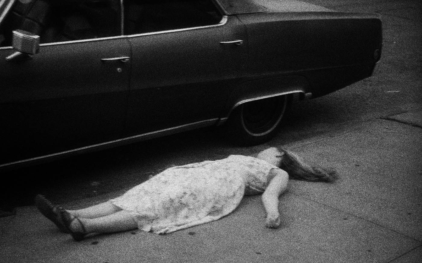 Sissel Annett Myklebust - Claire next to the car in Brooklyn