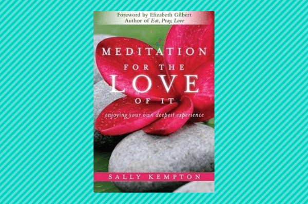 meditation for the love of it meditation books
