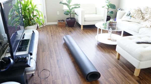GOrilla Workout Mat 7'x 5' 8mm Thick