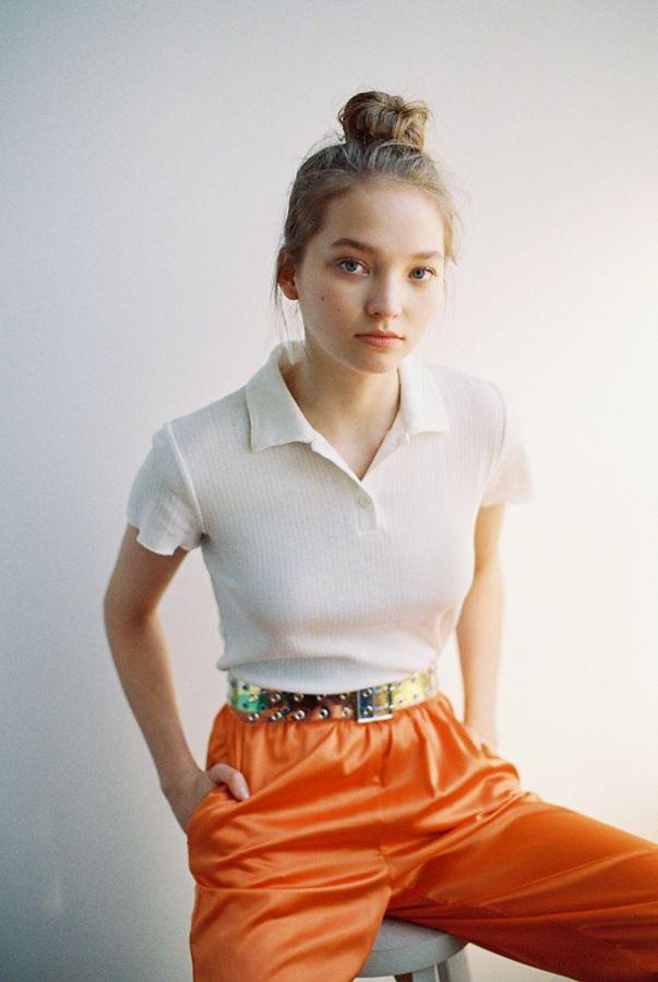 high-waisted-skirts-pointelle-polo-shirt.jpeg