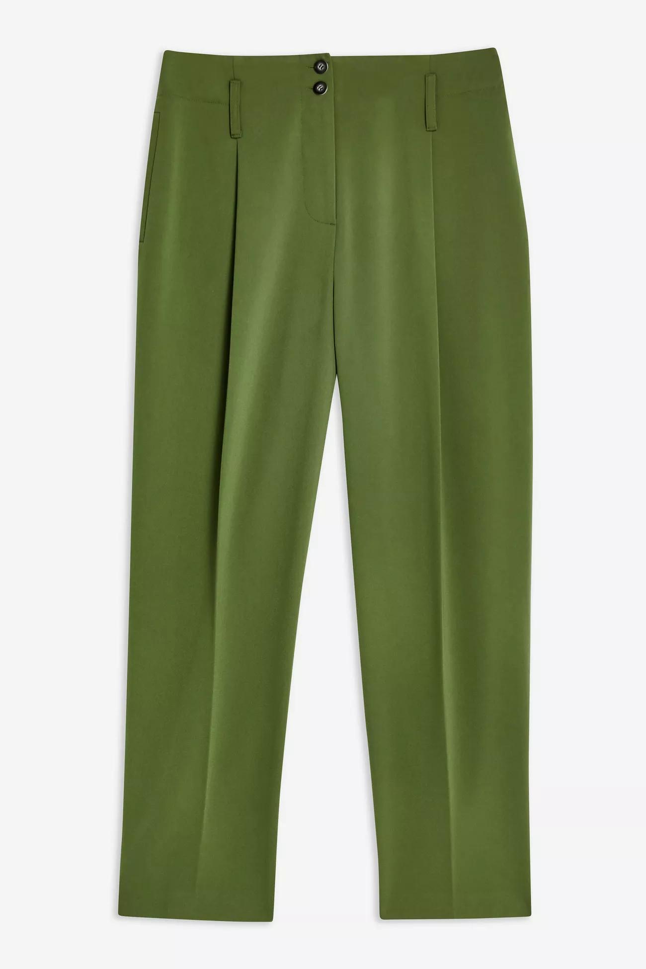 Button Peg Trousers, $55, Topshop