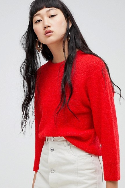 Cropped Knit Sweater, $32, ASOS