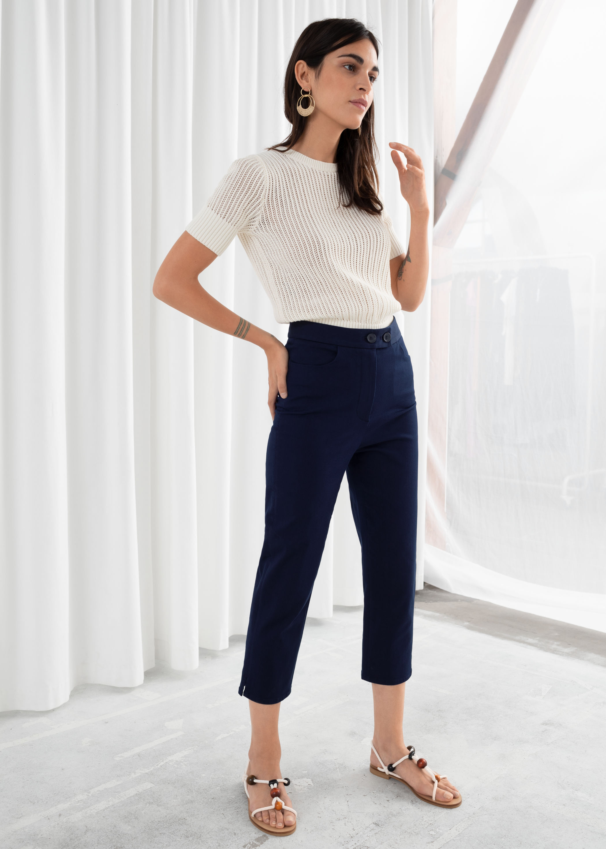 Cropped Tailored Pants, $79, & Other Stories