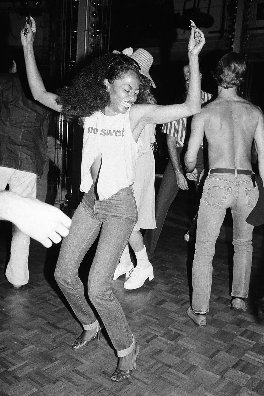 DIANA ROSS, STUDIO 54 1979 - GETTY IMAGES