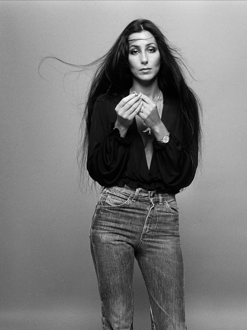 """CHER """"I'd RATHER BELIEVE IN YOU"""" PHOTOSHOOT"""