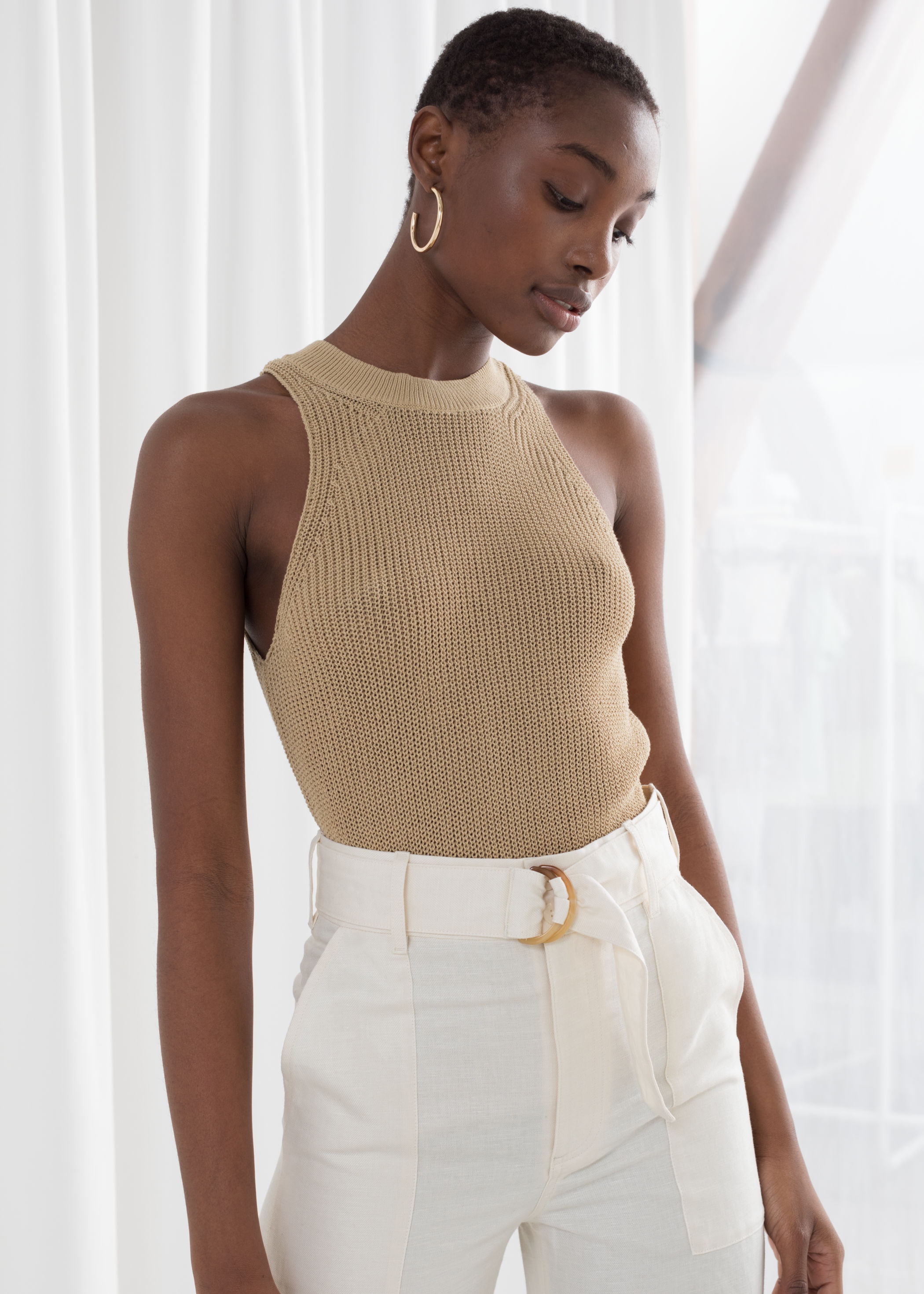 Knit Tank Top, $49, & Other Stories