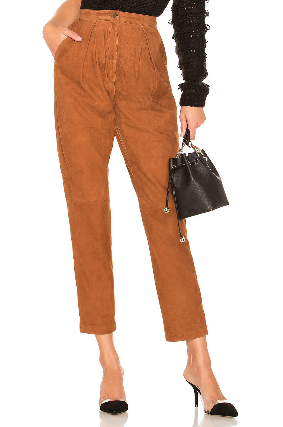 Axel Suede Pant, $84, Revolve