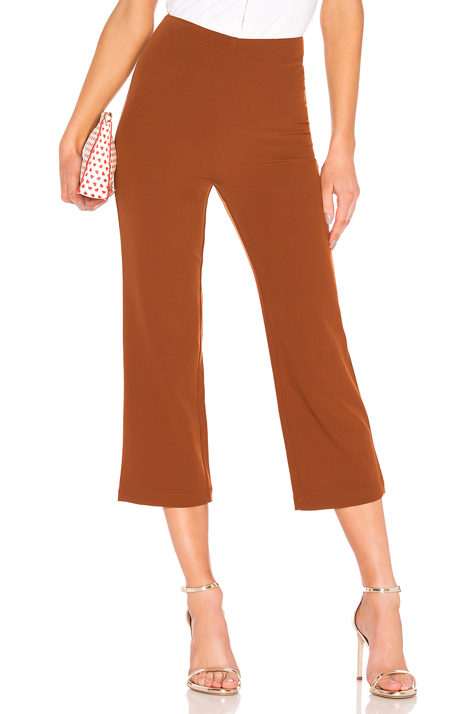 Brown Cropped Pant, $30, Revolve