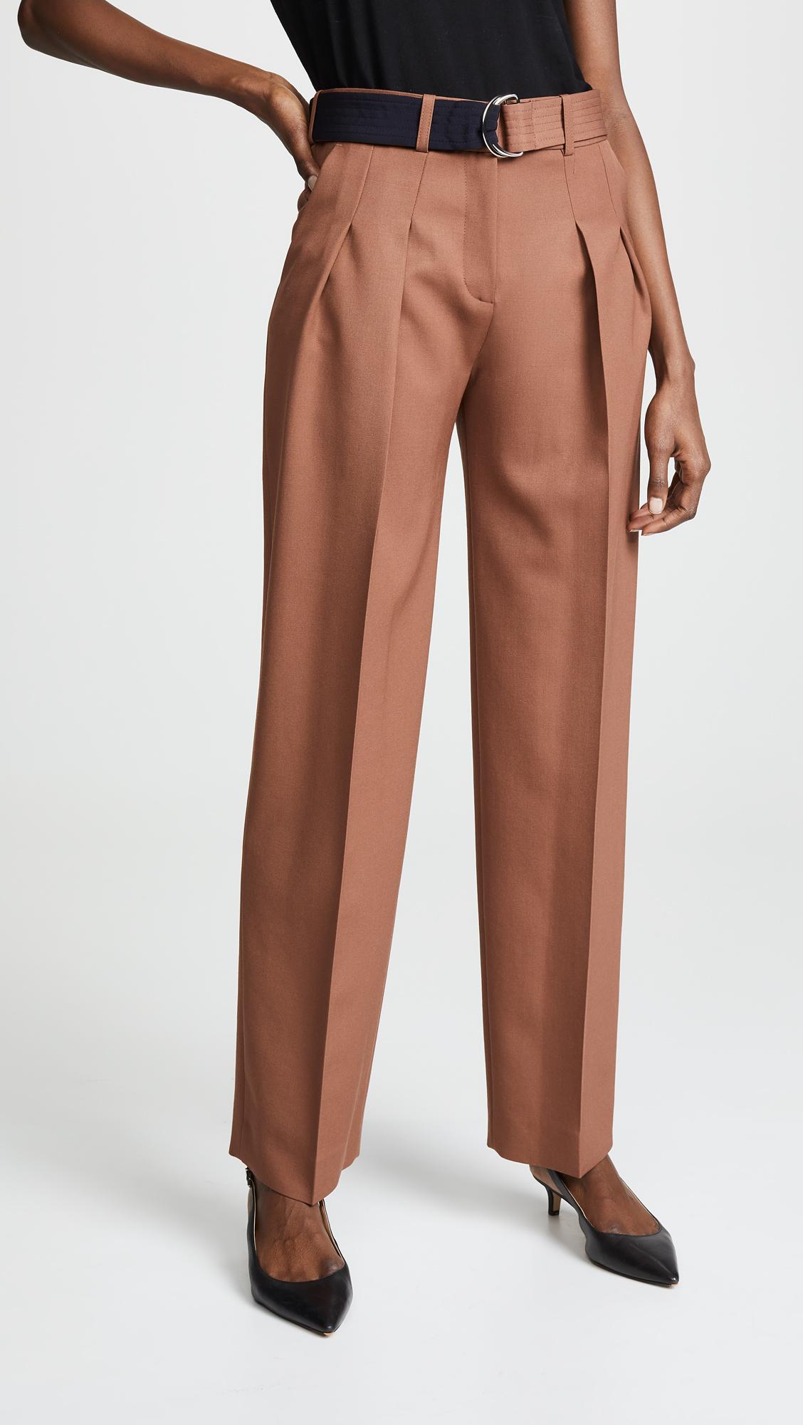Victoria Beckham Front Pleat Pants, $192, Shopbop