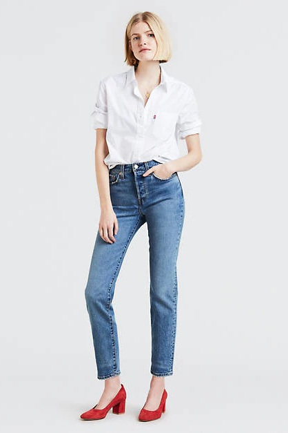 """Big Booty"" Wedgie Fit Jeans, $98, Levi's"