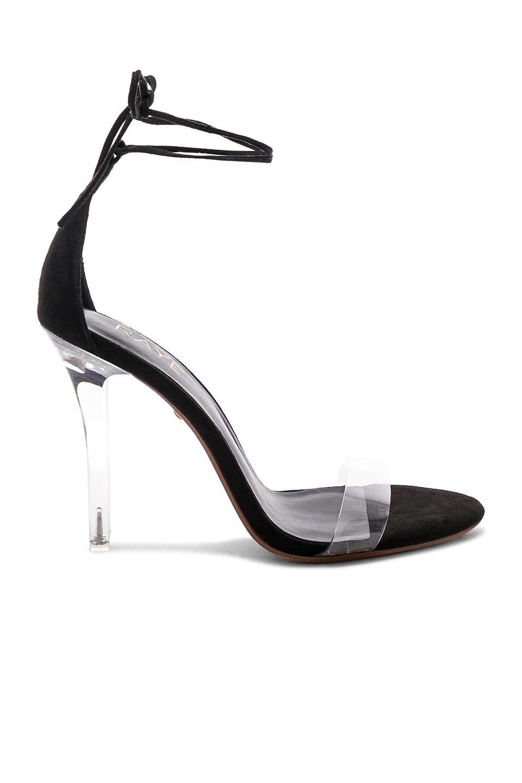 Black Transparent Heel, $113, Revolve