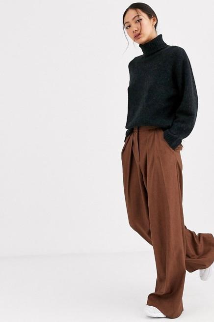 Pleat Front Pants, $103, ASOS