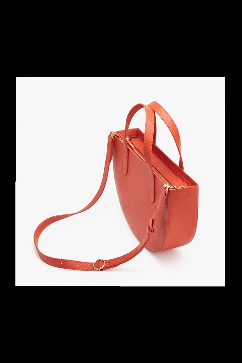 Semi-Circle Bag, $235, Cuyana