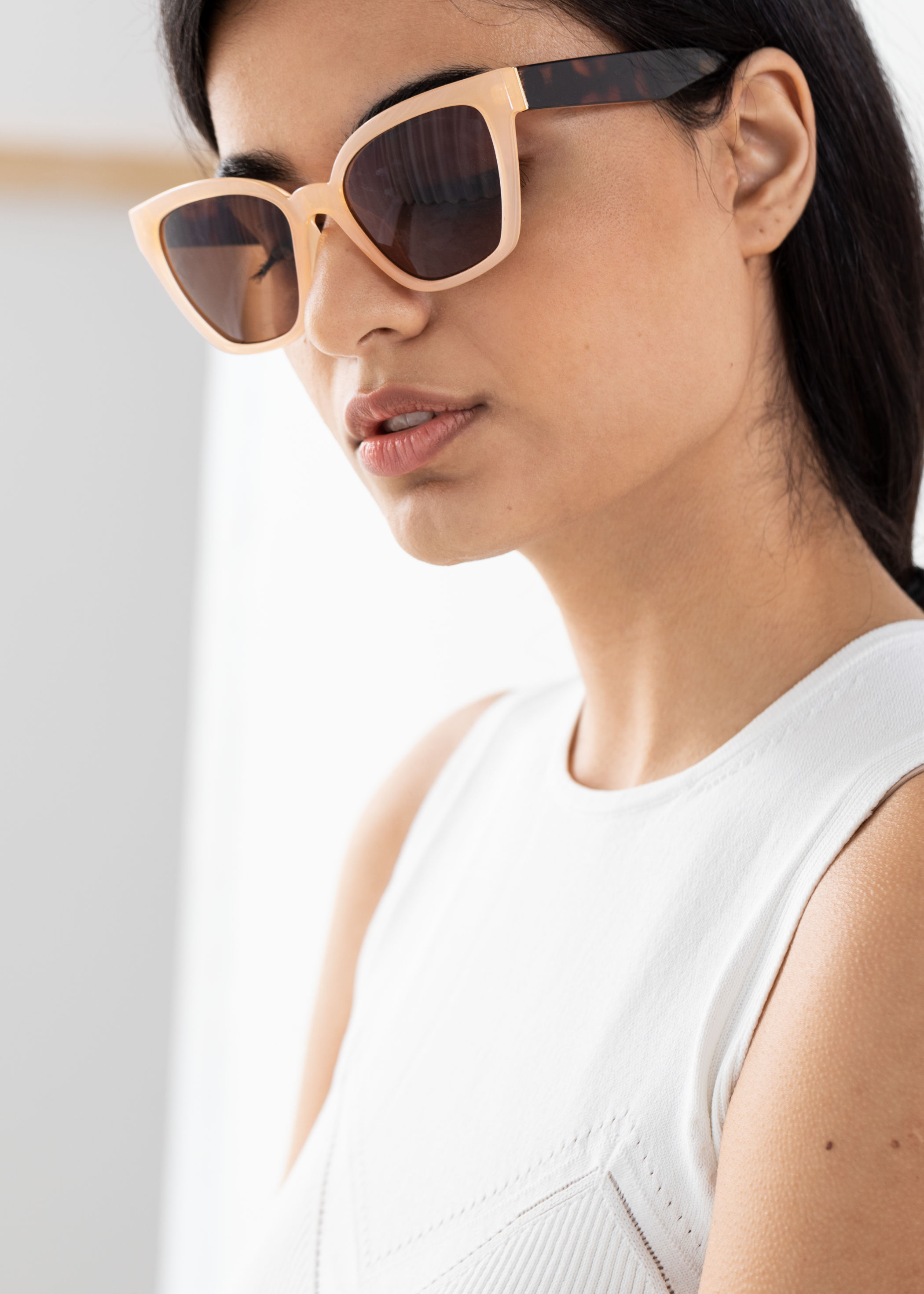 Cat Eye Sunglasses, $39, & Other Stories