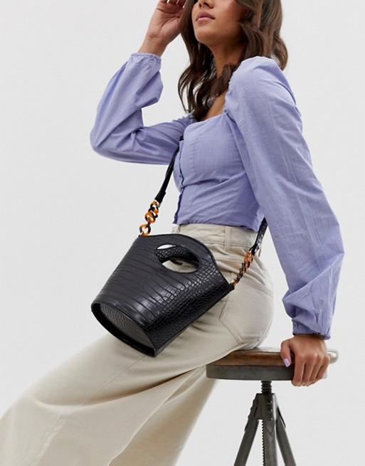 Bucket Crossbody Bag, $48, ASOS
