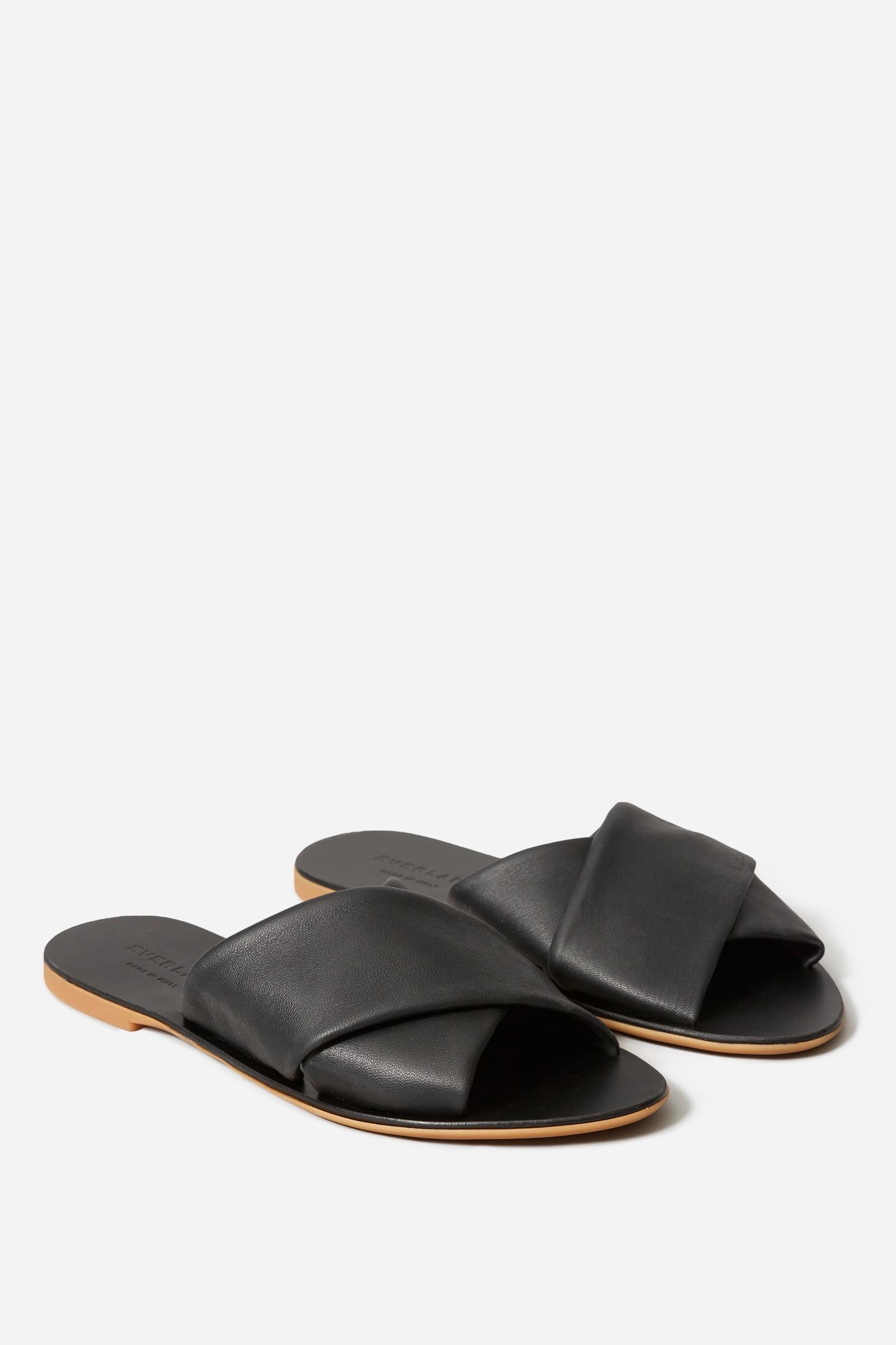 Crossover Sandals, $88, Everlane