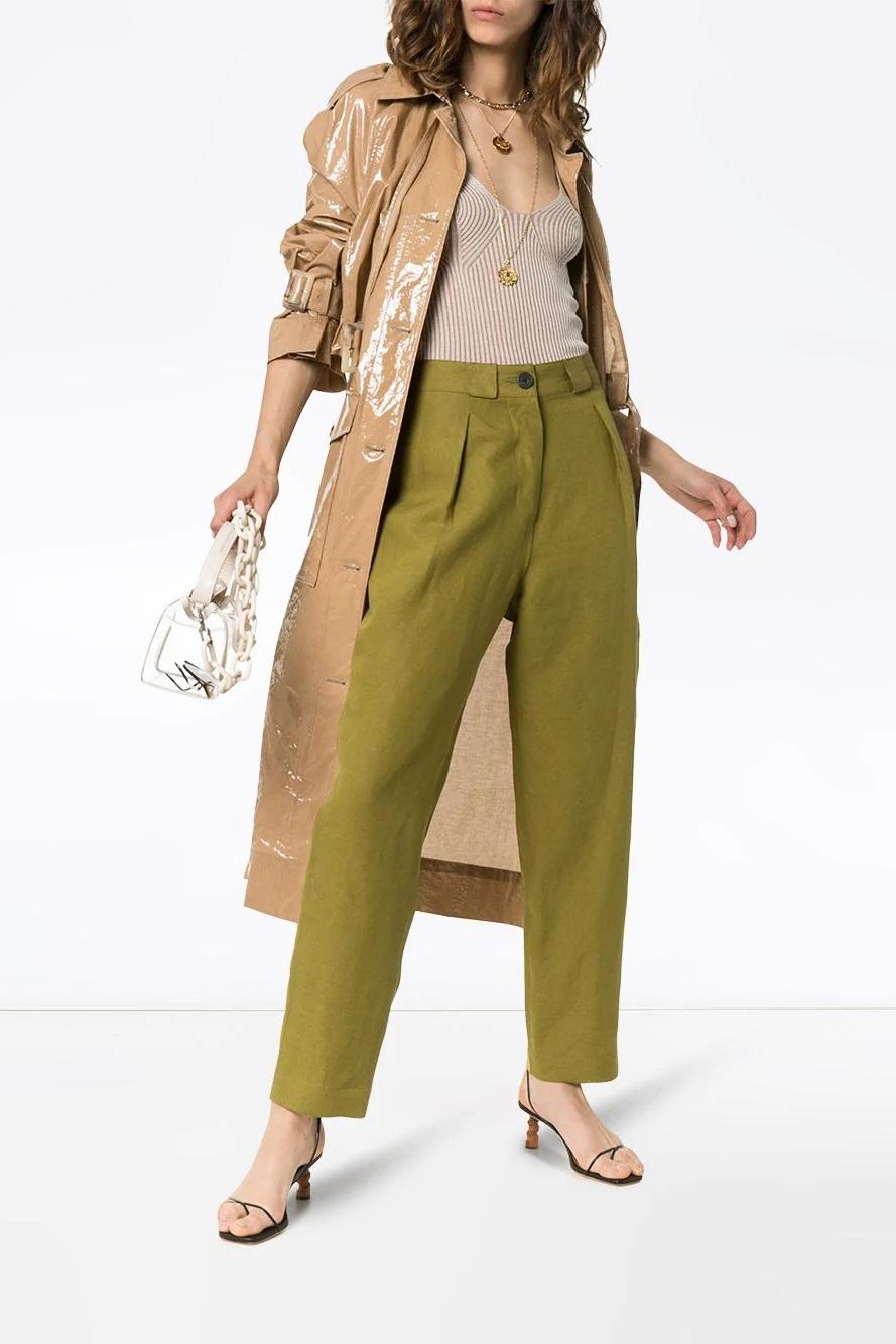 Mara Hoffman High-Waisted Trousers, $621, Farfetch