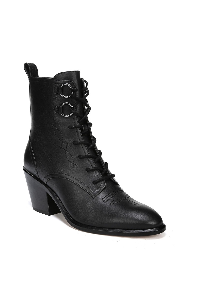 DVF Lace-Up Bootie, $398, Shopbop
