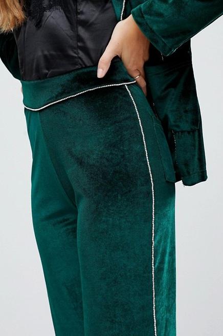 Flared Velvet Pants, $29, ASOS