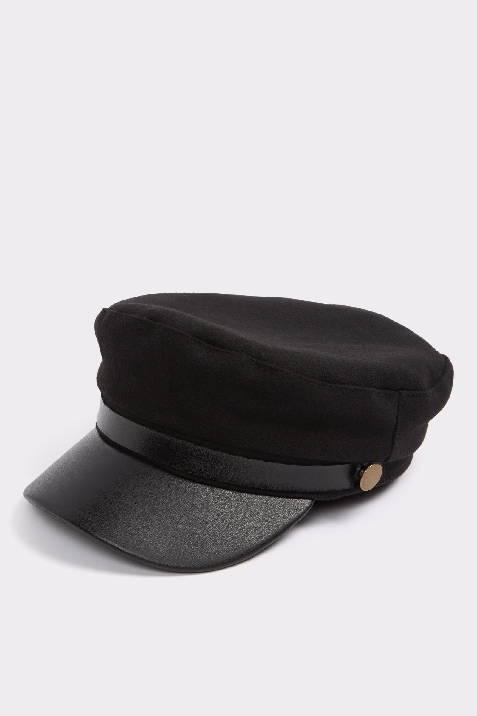 Black Driver Cap, $20, Aldo