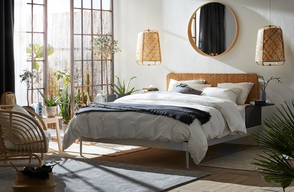 The 10 Best Ikea Bed Frames Right Now How To Style Them On A