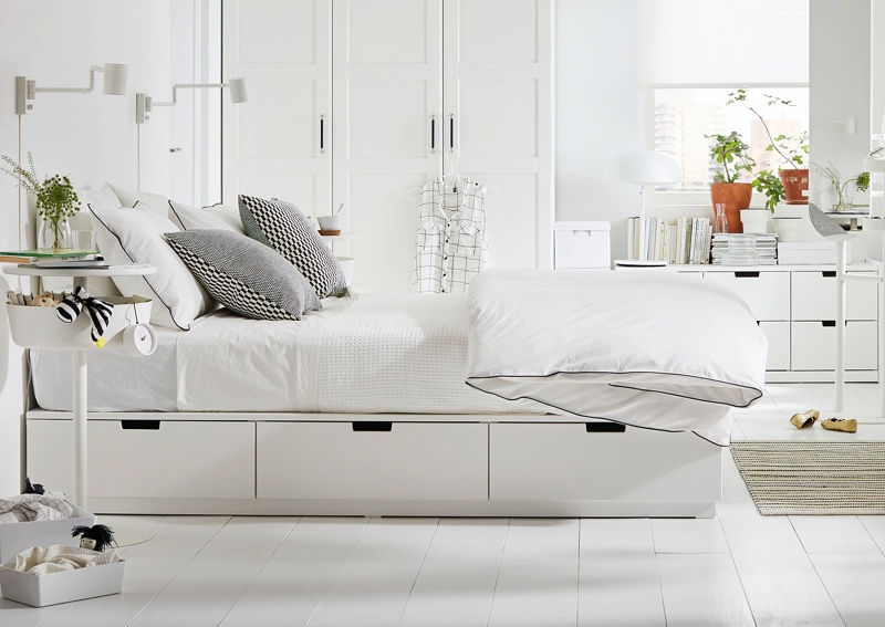 The 10 Best IKEA Bed Frames Right Now & How To Style Them On