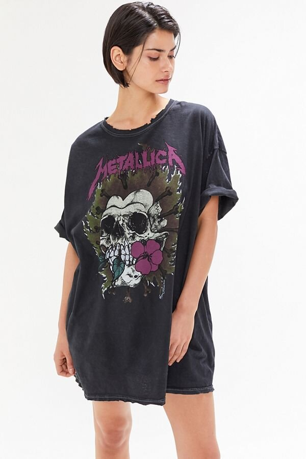 Metallica T-Shirt Dress, $39, Urban Outfitters