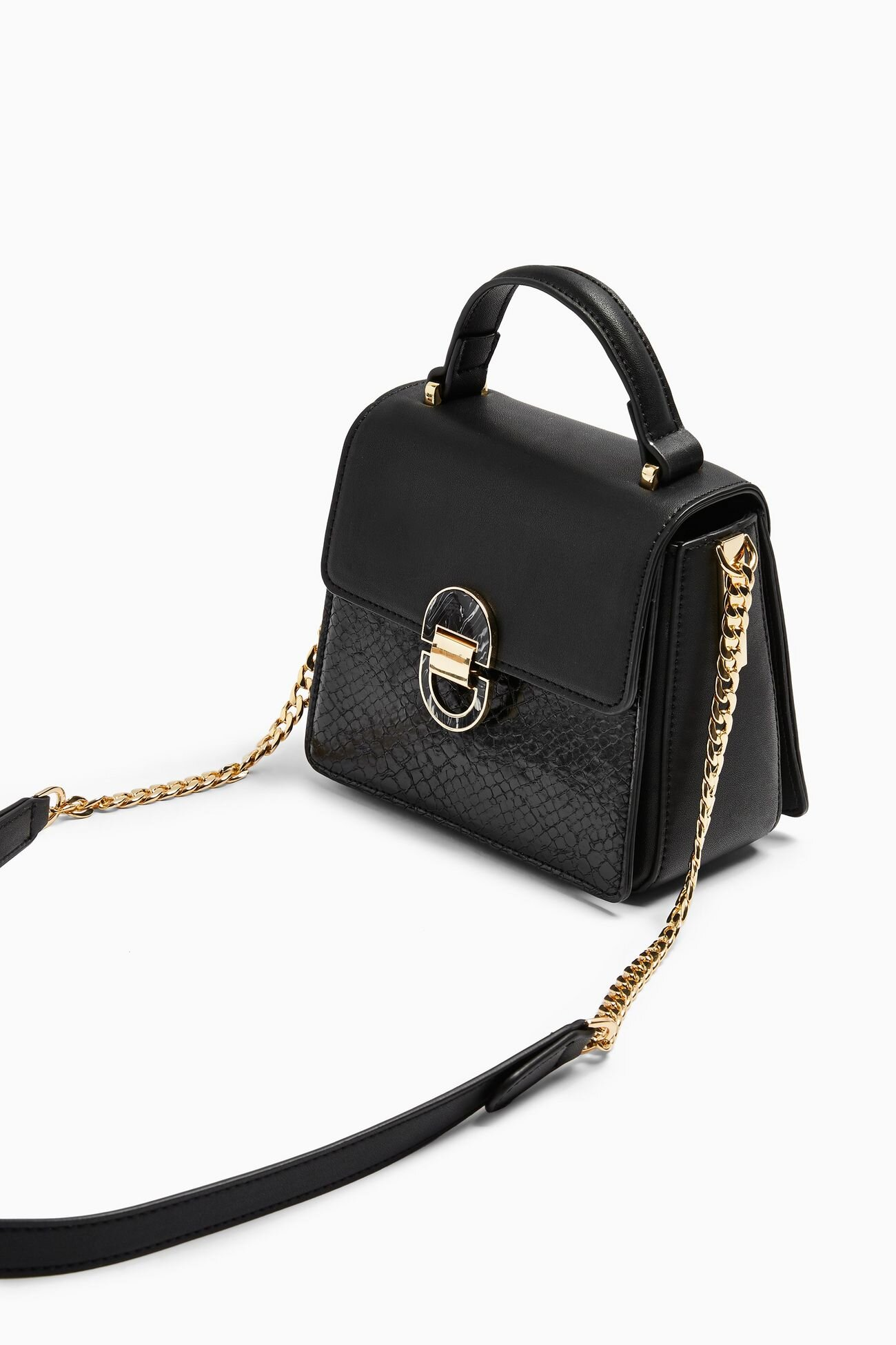 Black Mini Cross Body Bag, $48, Topshop