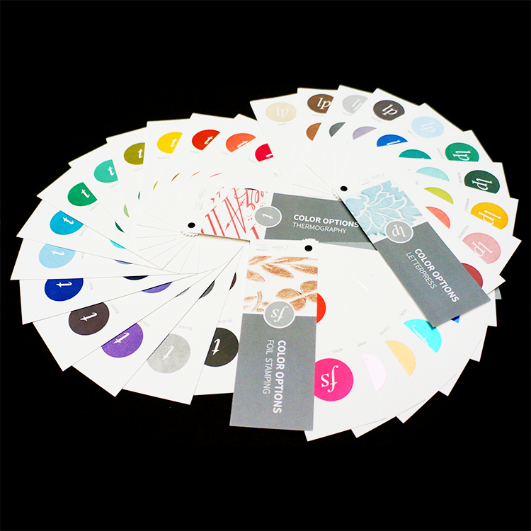 Fine Papers & Processes     Letterpress, thermography and foil stamping processes used on quality papers from Carlson Craft  Custom Print Services . Enhance your printed marketing materials or use these options to create custom event invitations.