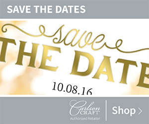Save the Date Invitations from Carlson Craft