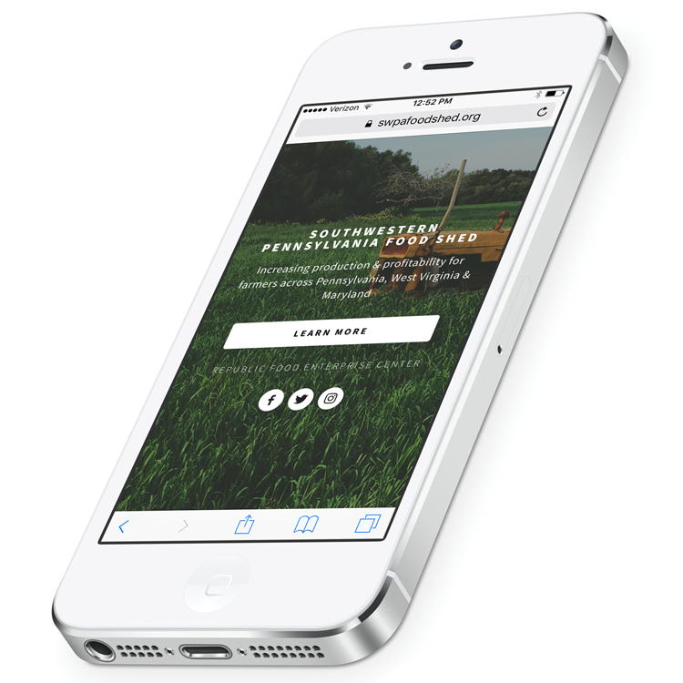 Mobile-friendly view of site.