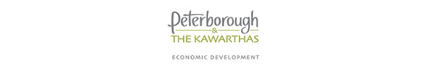 Copy of Peterborough & the Kawarthas Economic Development logo