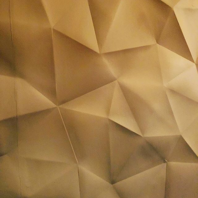 Origami wall #sushiko #origami #texture #inspiration