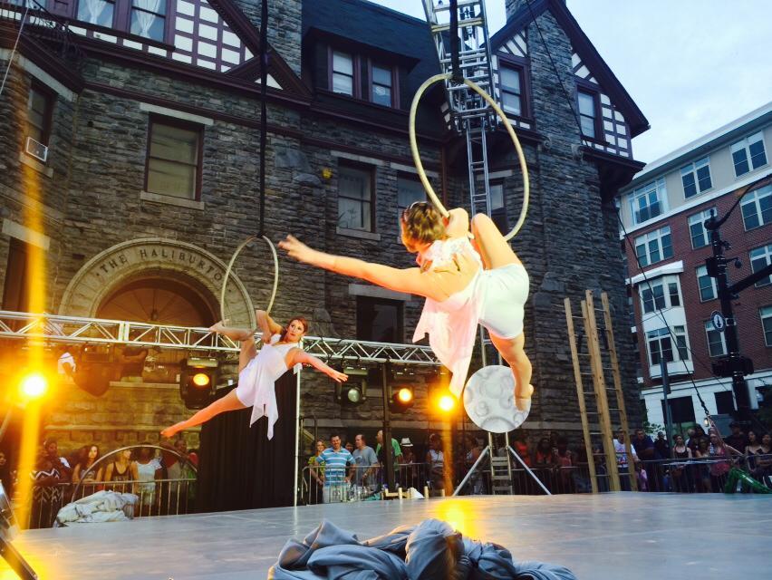 Synchronized Lyra (Aerial Hoop)
