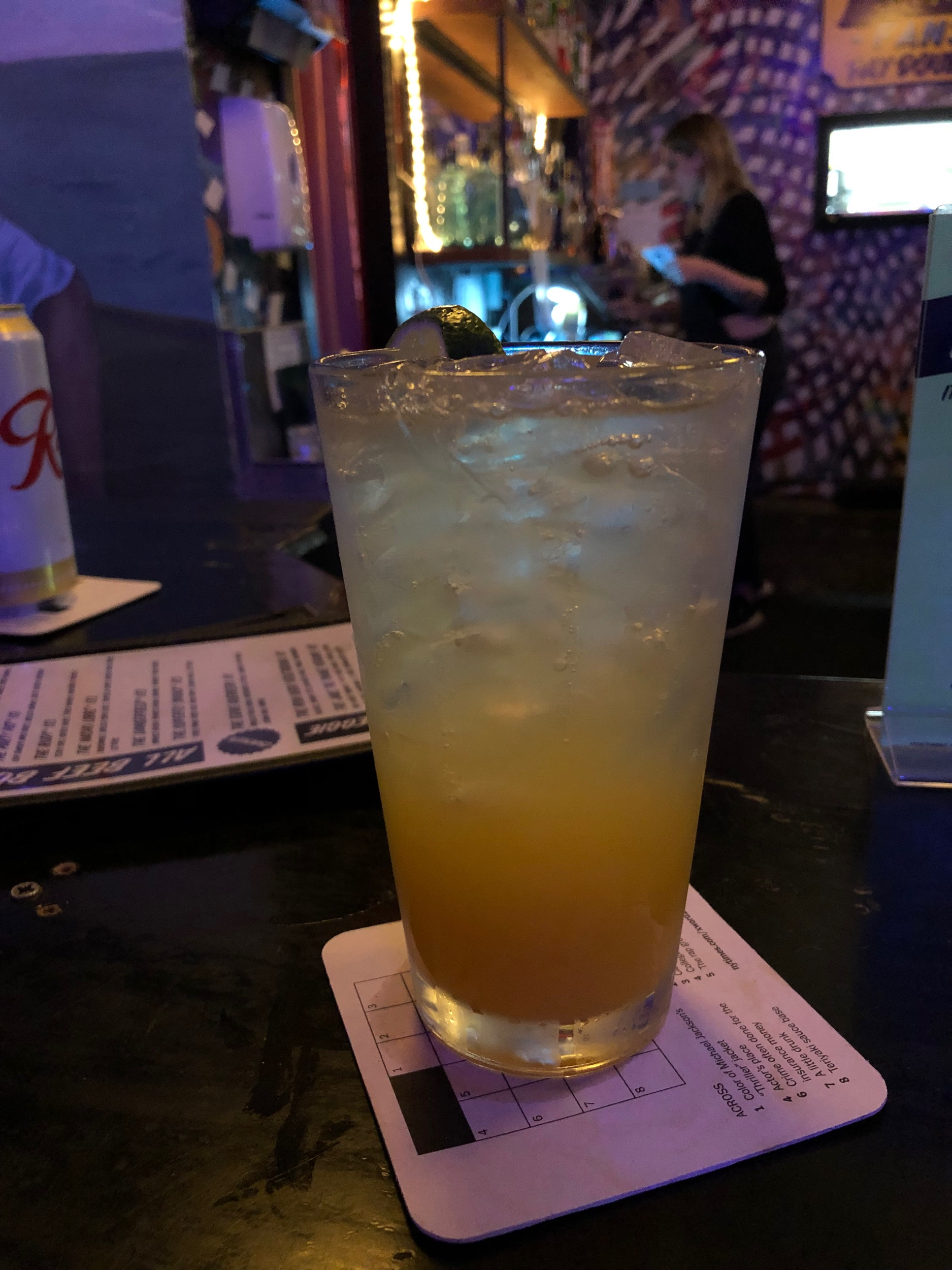Pash Bandifroot CBD Infused Mocktail