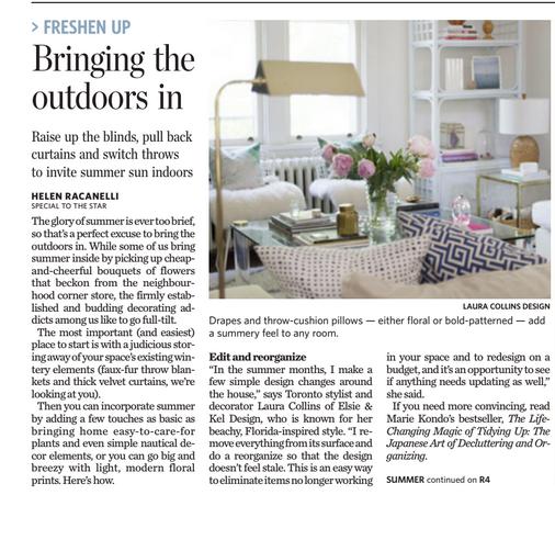 Toronto Star Article Elsie and Kel
