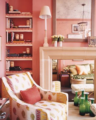 Layered pink