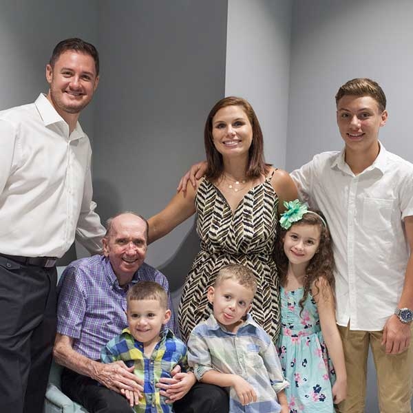 Massage Hope - Founder Johnny Koons and Family