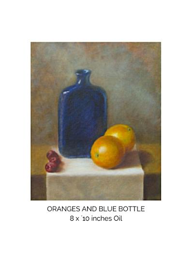 Oranges and blue bottle.jpg