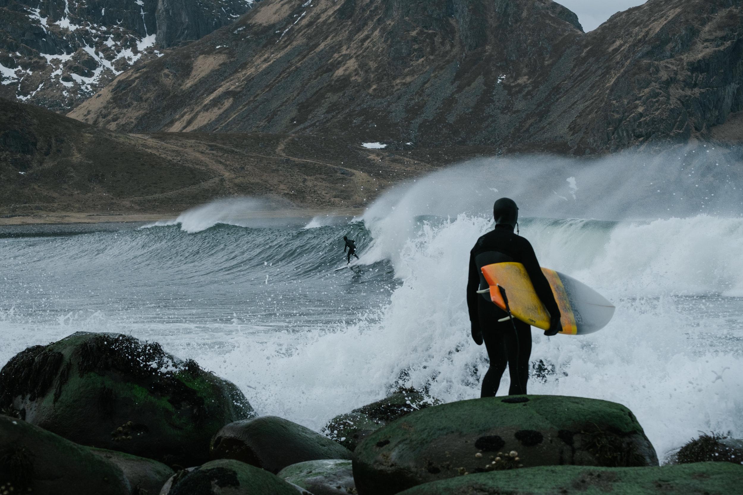 Arctic Surfing -