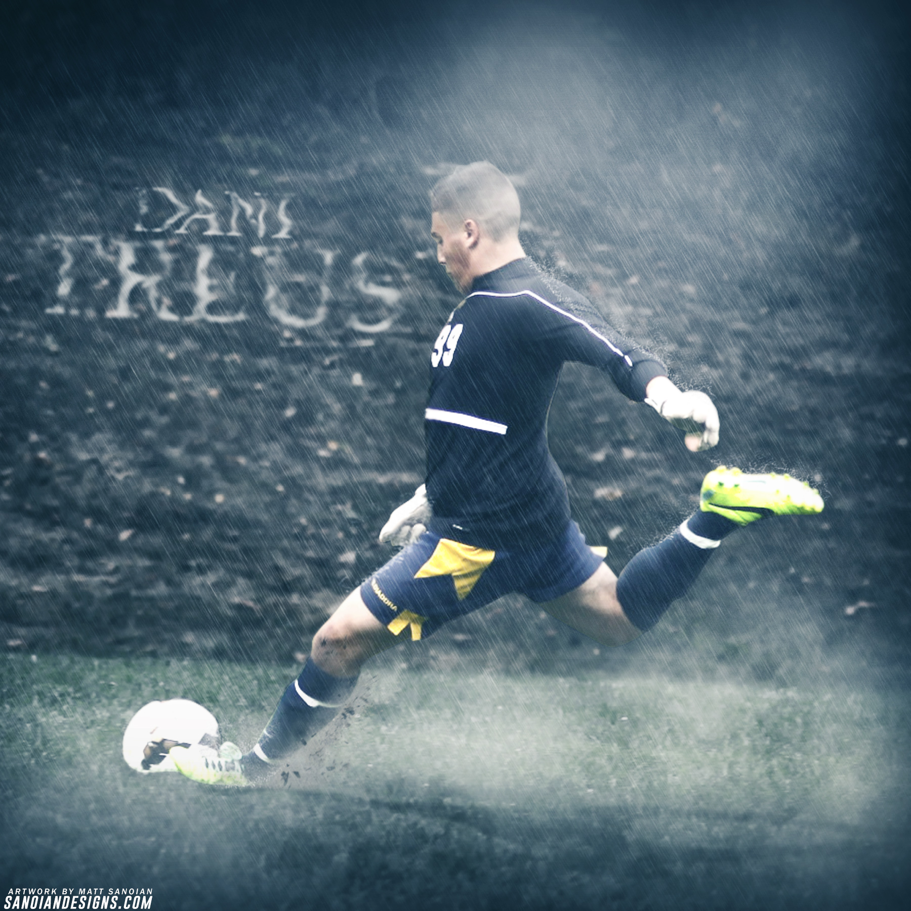 Daniel Treus - NFA Soccer Graphic